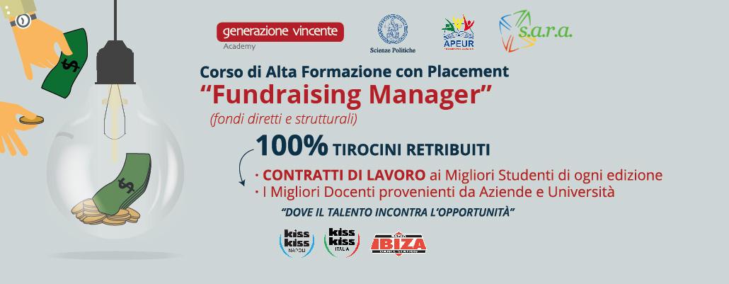 Fundraising Manager - Corso di Alta Formazione