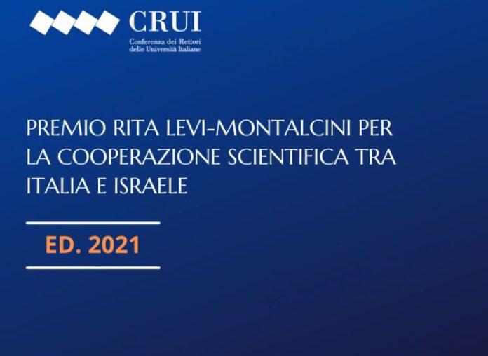 Premio RITA LEVI-MONTALCINI per la cooperazione scientifica tra ITALIA e ISRAELE